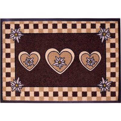 Akzente Easy Clean Edelweiss Doormat