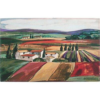 Akzente Gallery Lavender Fields Doormat