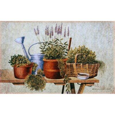 Akzente Gallery Garden Herbs Doormat