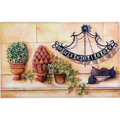 Akzente Gallery Sun Dial Doormat