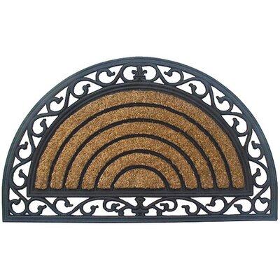 Akzente CocoRubber Classic Semicircle Doormat