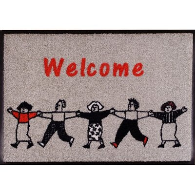 Akzente Easy Clean Welcome Family Doormat