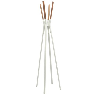 Splash Coat Rack Color: White
