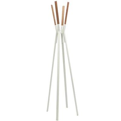 Splash Coat Rack Color: White
