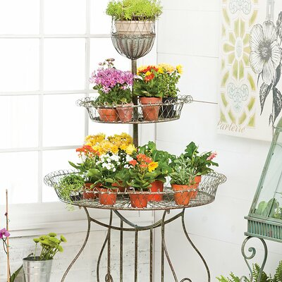 Simona Mult Tiered Plant Stand