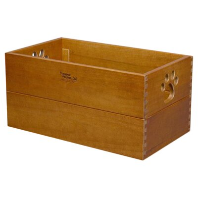 Trixie Storage Solid Wood Crate Size: Large