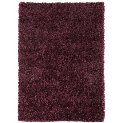 Husain International Ribbon Handmade Purple Area Rug