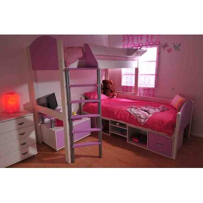 Stompa L-Shaped Bunk Bed with Storage
