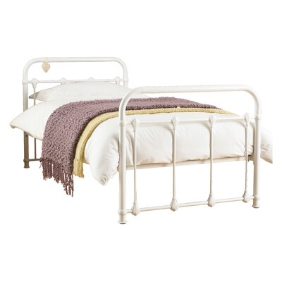 House Additions Purity European Single Wrought Iron Bed