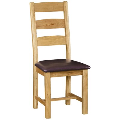 Alpen Home Cardalea Solid Oak Upholstered Dining Chair