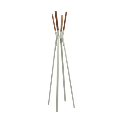 Splash Coat Rack Color: Grey