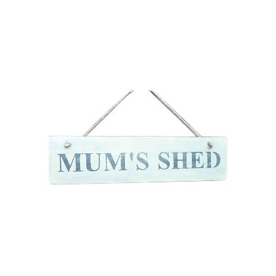 Duckydora Mum's Shed Garden Sign
