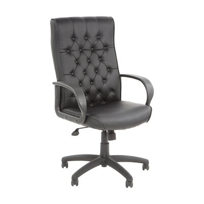 Boss Office Products Adjustable High-Back Button Tufted Executive Chair