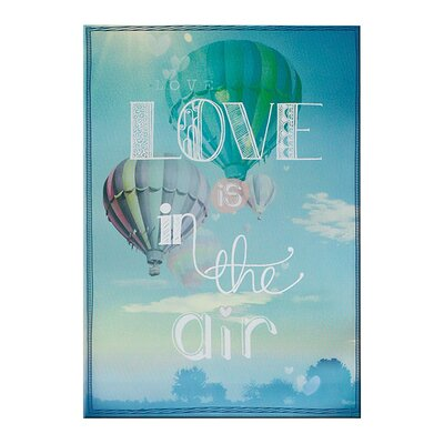 Graham & Brown Love Is In The Air Typography on Canvas