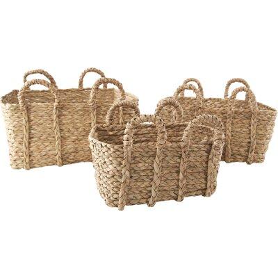 Vera Rush 3 Piece Wicker Basket Set