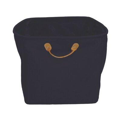 Monica Lazzari Design Storage Basket with Leather Handles