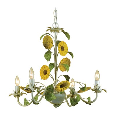 AF Lighting Kansas 4 Light Chandelier