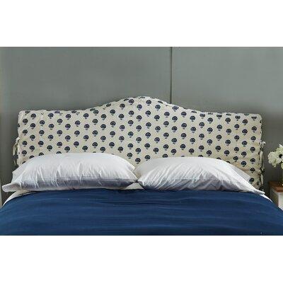 Linen Upholstered Headboard Size: Queen