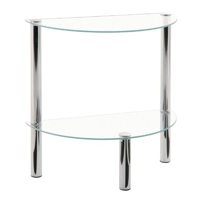 House Additions Suni Demilune Side Table