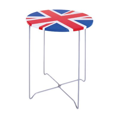 House Additions Union Jack Side Table