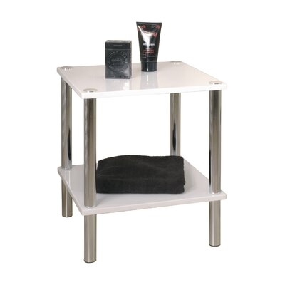 House Additions Silverdown Square Side Table