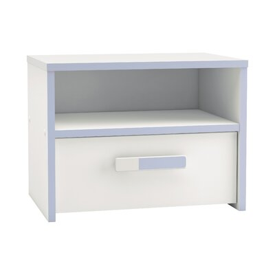 Home & Haus Pothia 1 Drawer Bedside Table