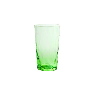 Ripple Highball Glass Finish: Green