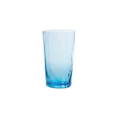 Ripple Highball Glass Finish: Turquoise