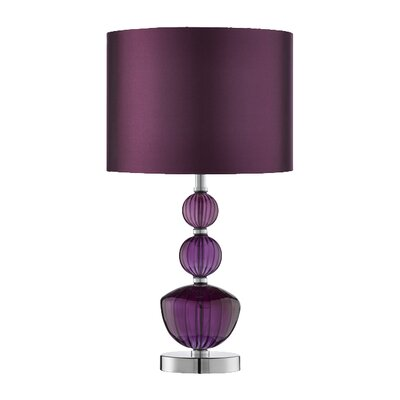 House Additions Chrome 42cm Table Lamp