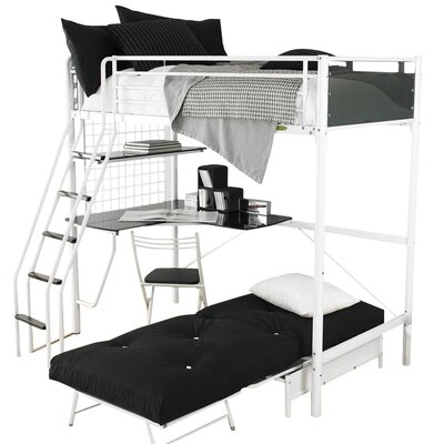 House Additions Peek Small Single L-Shaped Bunk Bed