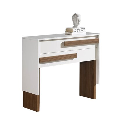 Urban Designs Cleo Console Table and Mirror Set