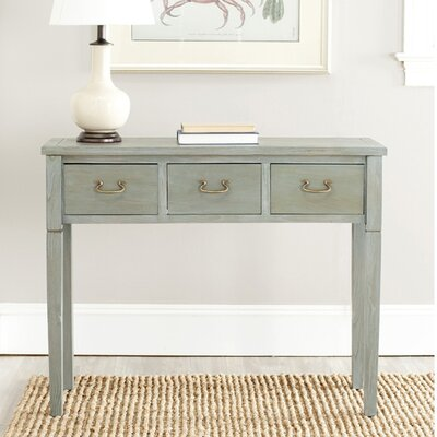 Robinwood Console Table Color: French Grey