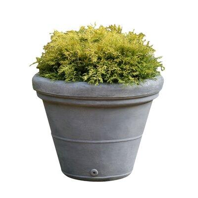 """Estate Cast Stone Pot Planter Color: Natural, Size: 29"""" H x 34"""" W x 34"""" D"""