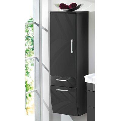 Posseik Rima 40 x 134.5cm Wall Mounted Tall Bathroom Cabinet