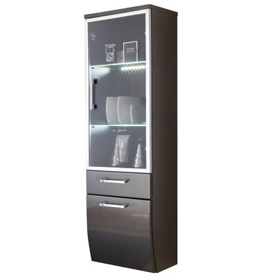 Posseik Rima 40 x 134.6cm Wall Mounted Tall Bathroom Cabinet