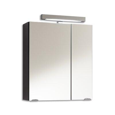 Posseik Laonda 60cm x 68cm Surface Mount Mirror Cabinet