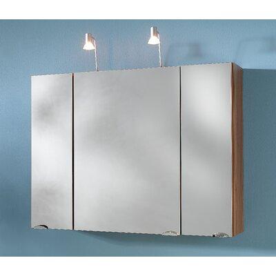 Posseik Salona 90cm x 68cm Surface Mount Mirror Cabinet
