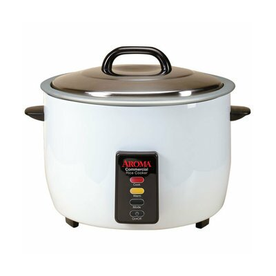 """Pot Style Commercial Rice Cooker Size: 11"""" H x 15.8"""" W x 15.8"""" D"""