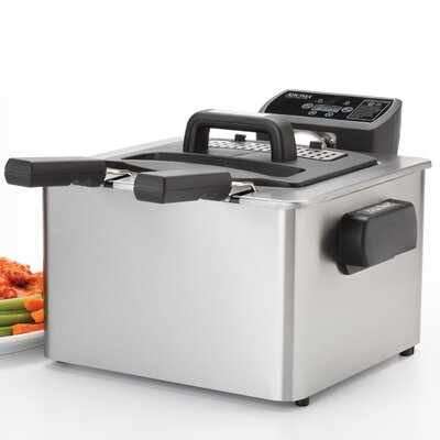 4 Liter Stainless Steel Smart Fry XL Digital Deep Fryer