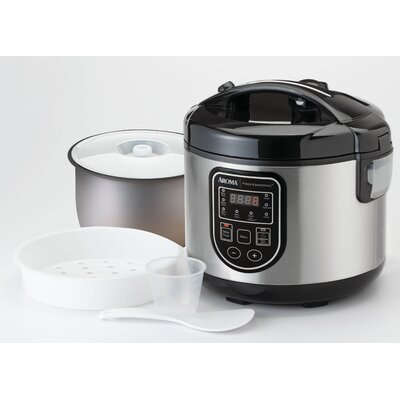 20-Cup Professional Digital Rice Cooker, Food Steamer and Slow Cooker