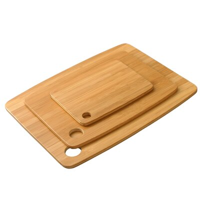 DaPur 3 Piece Bamboo Cutting Board Set