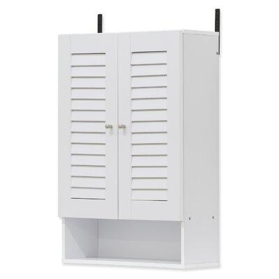 Corvus 2 Door Accent Cabinet Color: White