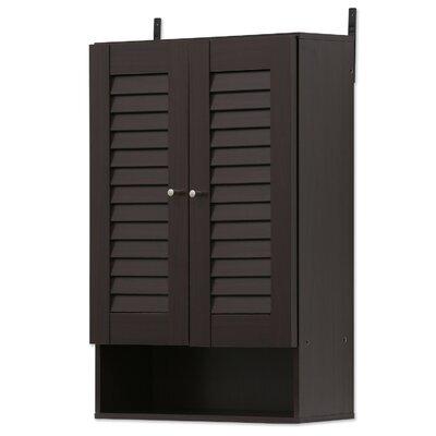 Corvus 2 Door Accent Cabinet Color: Espresso