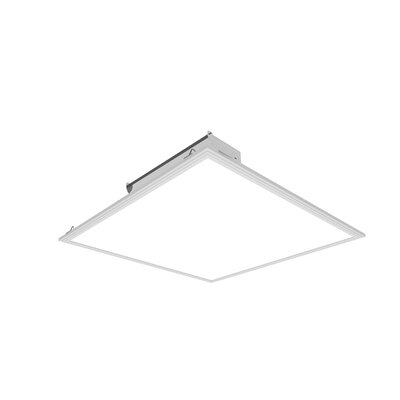 "Cosmic LED Semi Flush Mount (Set of 2) Size: 0.4"" H x 48"" W x 24"" D, Bulb Color Temperature: Warm White - 3500K"