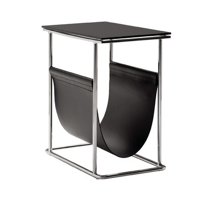 Cor Magazine Rack Color: Black