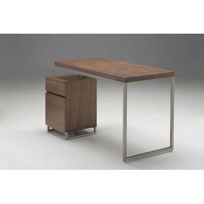 "Span Desk Size: 47"", Finish: Walnut"