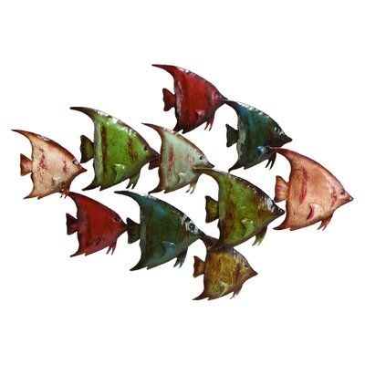 Metal Fish Wall Décor