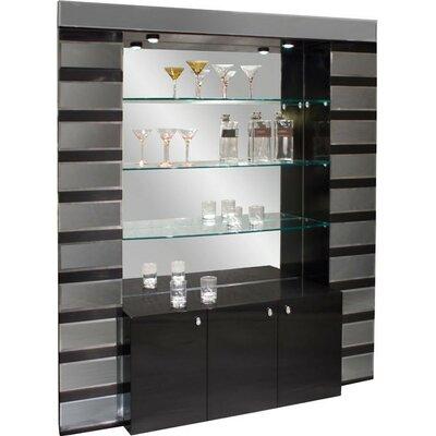 Mera Bar Corner Color: Black