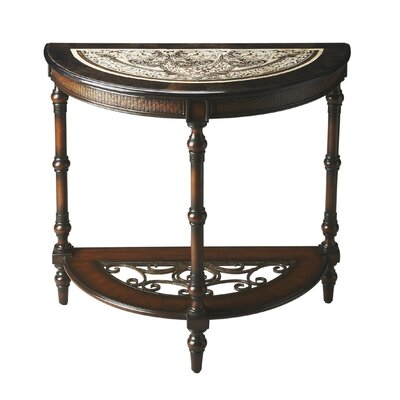 Salgado Demilune Console Table