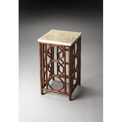Modern Expressions Pedestal Telephone Table Color: Designer's Edge